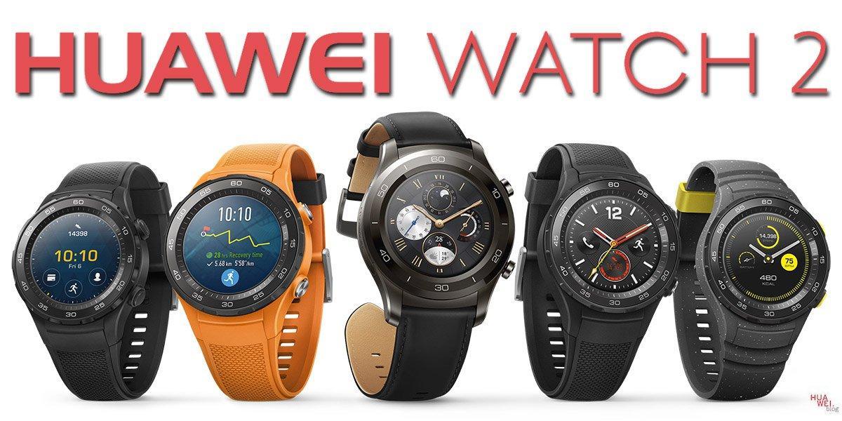 Huawei Watch 2 Übersicht