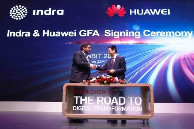 Huawei geht Kooperationen mit Indra und MetaSystem ein 2