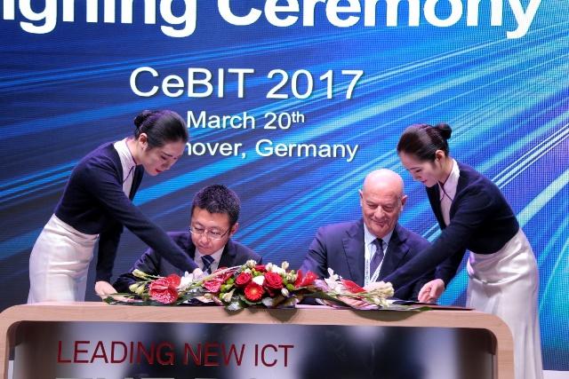 Huawei geht Kooperationen mit Indra und MetaSystem ein 1