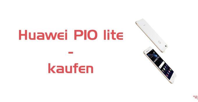 Huawei P10 lite ab sofort zu kaufen 1