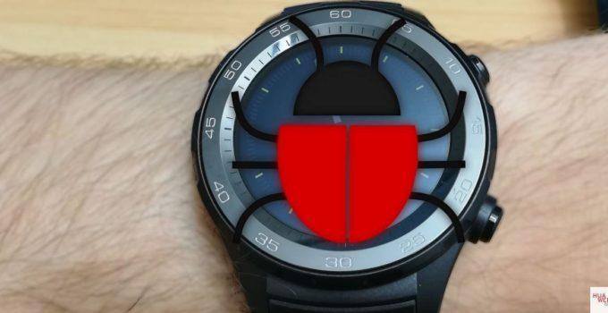 Android Wear 2 Bugbericht von der Huawei Watch 2