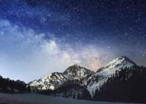 Die Milchstraße – unendliche Weiten – mit dem P9 fotografiert