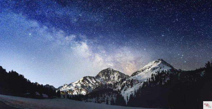 Die Milchstraße - unendliche Weiten - mit dem P9 fotografiert 1