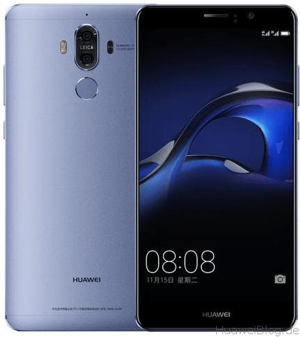 Huawei Mate 9 blau