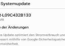 Huawei P10 Update B133 Header