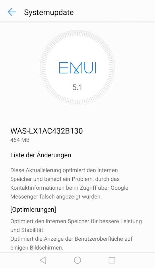 Huawei P10 Lite B130 B131 Update