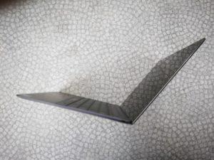 Huawei Matebook X Test Seitenansicht aufgeklappt