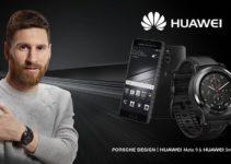 Lionel Messi & Huawei Watch 2 Porsche Design