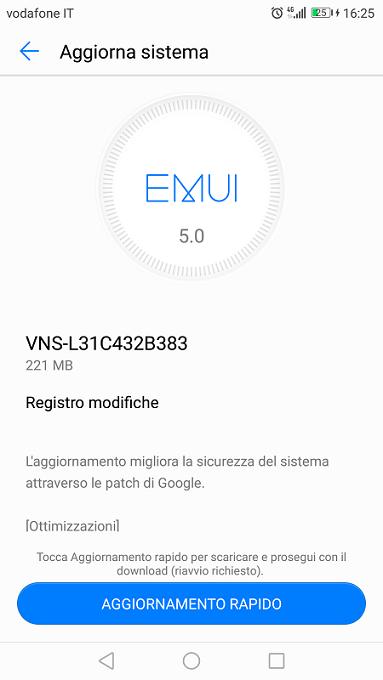 VNS-L31C432B383 Update
