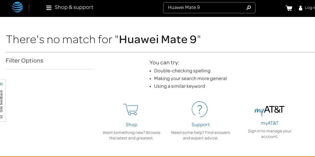 Huawei Mate 9 AT&T