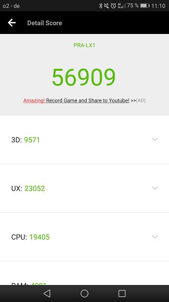 Huawei P8 Lite 2017 AnTuTu Benchmark