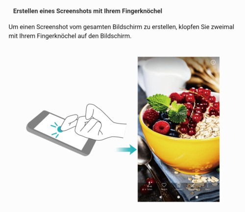 Screenshot per Knöchel