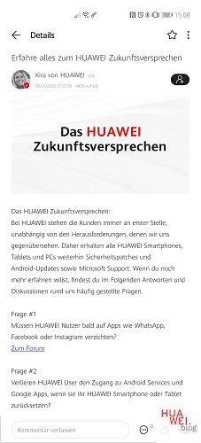HUAWEI Store App ist da - 10% Rabatt zum Start 2