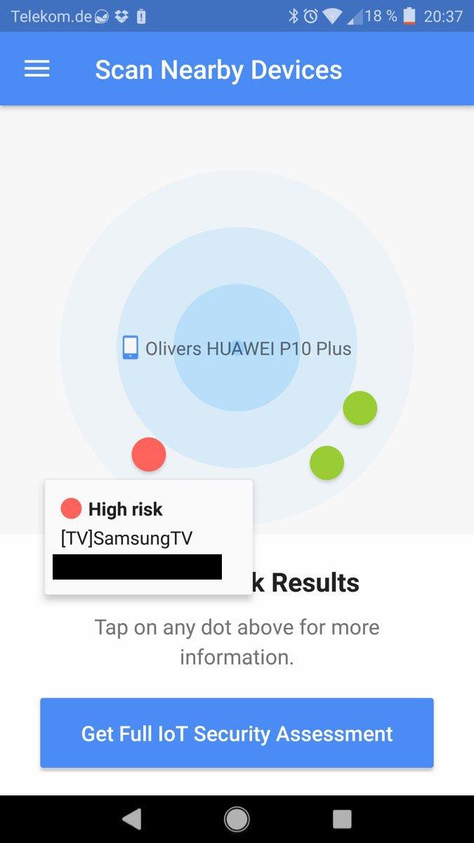 BlueBorne - Verwundbares SamsungTV
