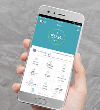 Huawei Gesundheitswaage App