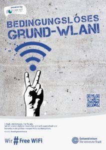 FreeWiFi Gelsenkirchen - Plakat 2
