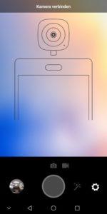 Huawei EnVizion Test 360 Kamera Verbindung