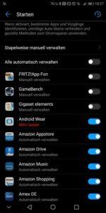 Huawei Mate 10 Pro Test Autostart