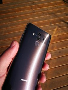 Huawei Mate 10 Pro Test Mocha Brown