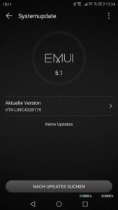 Huawei P10 B179 Update