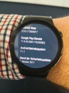 Huawei Watch Update Versionen