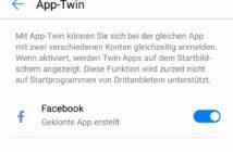 Huawei P smart App klonen