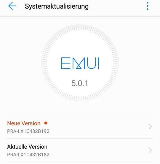 Huawei P8 Lite 2017 Firmware B192