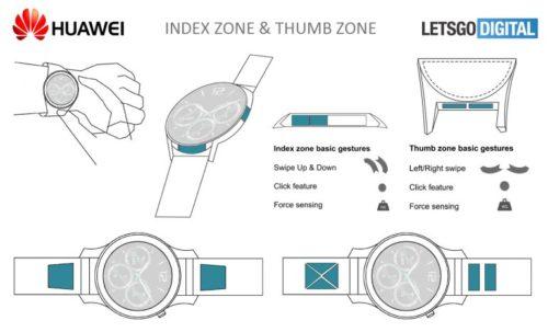Huawei Watch Thumbs