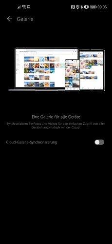 Cloud Galerie Sync