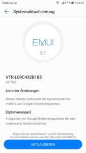 Huawei P10 B185 Firmware Update