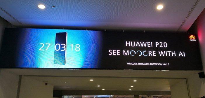 Huawei P20 MWC