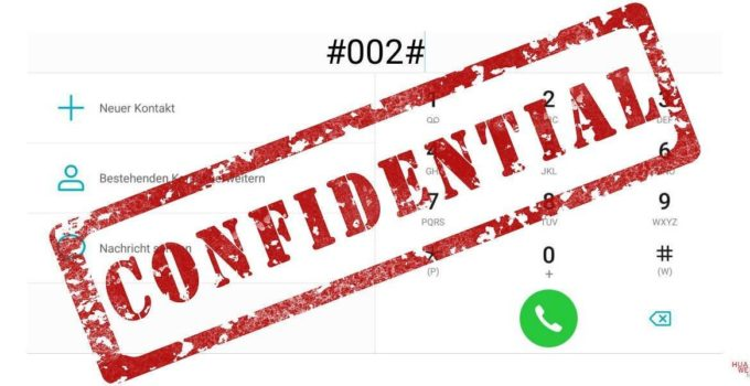Geheime Handy Codes - Huawei
