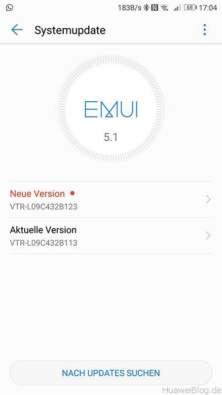 Huawei P10 Update B123