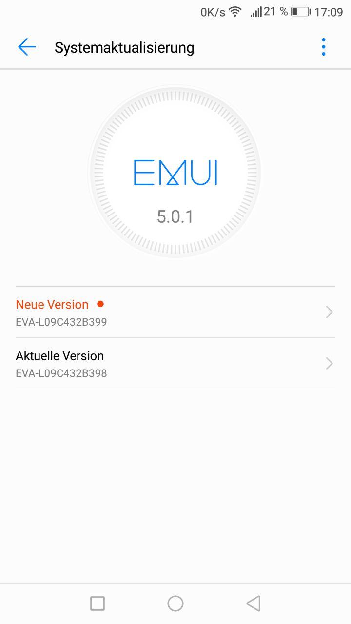 Huawei_P9_Sicherheitspatch_Firmware_Update_Maerz_18_EVA_L09C432B399