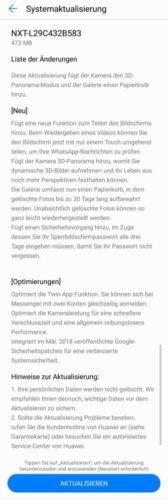 Huawei Mate 8 Update