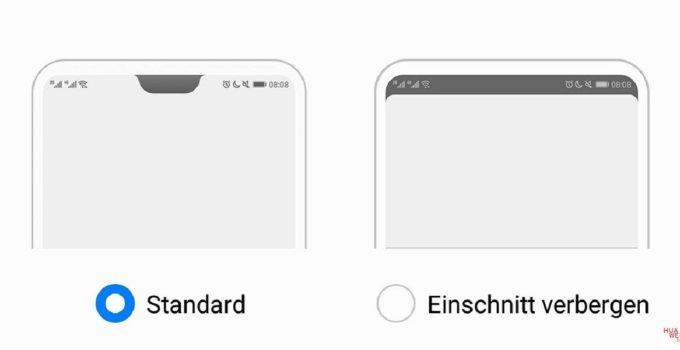[Anleitung] Huawei P20 Serie Notch deaktivieren 1