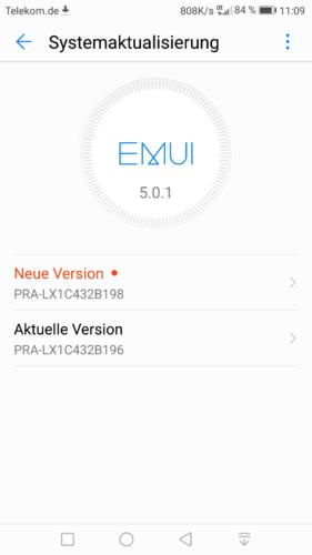 Firmware Updates für Mate 9, P Smart, P8 Lite 2017 und P8 Lite 2015 3