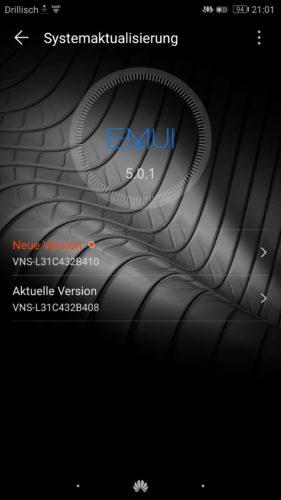 Huawei P9 Lite Firmware Update VNS-L31C432B410