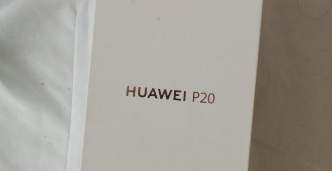 Unboxing vom Huawei P20 in Pink