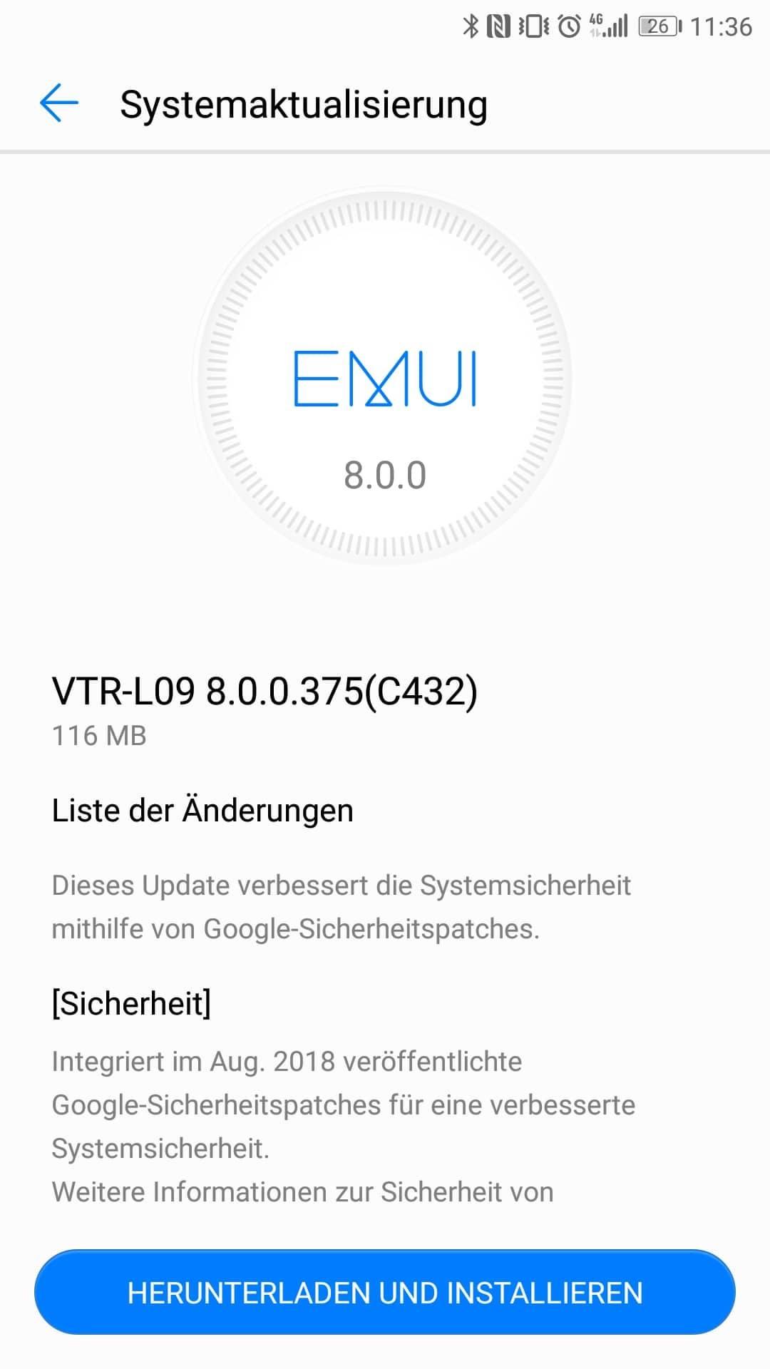 Huawei_P10_Firmware_Update_375_Sicherheitspatch_August_2018_3