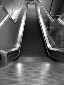 Huawei Galerie - Andreas B. _ Rolltreppe_bnw