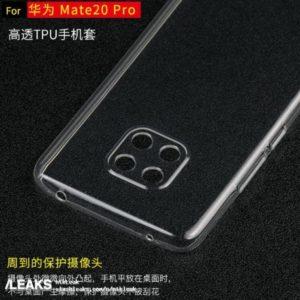 Huawei Mate 20 Pro Hülle oben