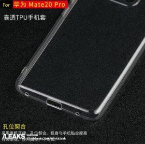 Huawei Mate 20 Pro Hülle unten