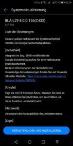 Mate 10 Pro erhält weiteres Firmwareupdate 1