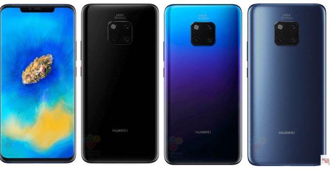 Huawei Mate 20 - Alle Details vorab geleakt 1