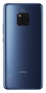 Huawei Mate 20 Pro Back Blau Nadelstreifen