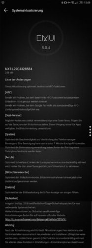 Huawei Mate 8 September-Patch