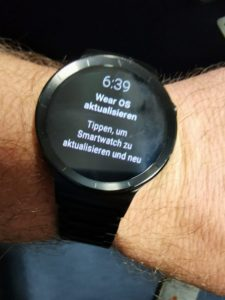 Huawei Watch Update Wear OS 2.1