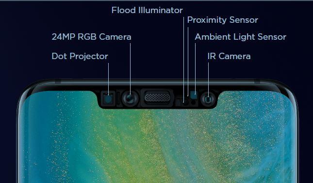 Huawei Mate 20 Pro Test 3D Face Unlock