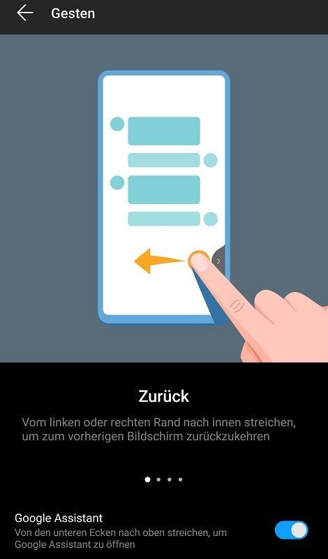 Huawei Mate 20 Pro Test Gesten